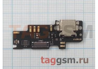 Шлейф для Xiaomi Mi4s + разъем зарядки + микрофон