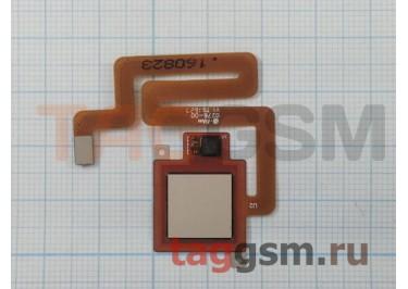 Шлейф для Xiaomi Redmi 4 + сканер отпечатка пальца (золото)