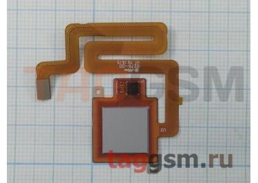 Шлейф для Xiaomi Redmi 4 + сканер отпечатка пальца (серый)