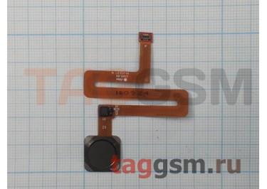 Шлейф для Xiaomi Mi Mix + сканер отпечатка пальца (черный)