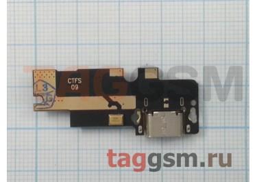 Шлейф для Xiaomi Mi4c + разъем зарядки + микрофон