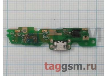 Шлейф для Motorola G5 + разъем зарядки + микрофон