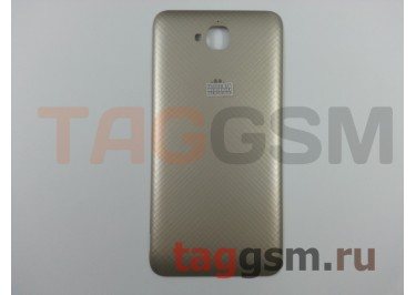 Задняя крышка для Huawei Honor 4C Pro / Y6 Pro (золото), ориг
