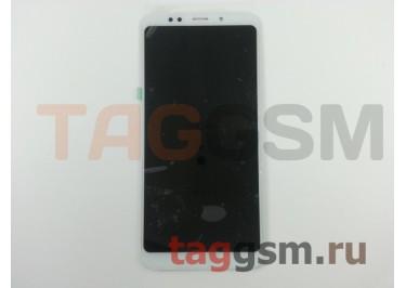 Дисплей для Xiaomi Redmi 5 Plus + тачскрин (белый)