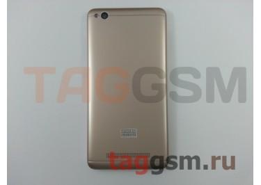 Задняя крышка для Xiaomi Redmi 4A (золото)