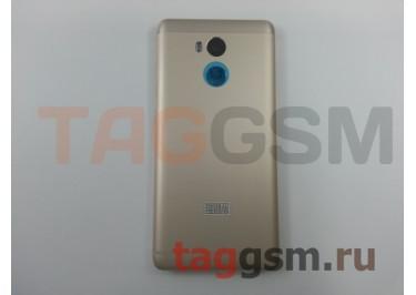 Задняя крышка для Xiaomi Redmi 4 (золото), ориг