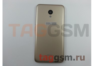 Задняя крышка для Meizu M5 (золото), ориг