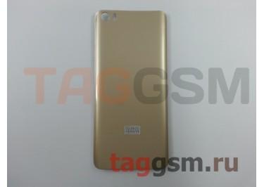 Задняя крышка для Xiaomi Mi5 (золото)