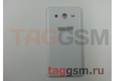 Задняя крышка для Samsung SM-G355H Galaxy Core 2 Duos (белый)