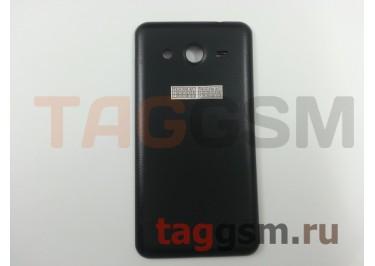 Задняя крышка для Samsung SM-G355H Galaxy Core 2 Duos (черный)
