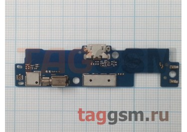 Шлейф для Lenovo S860 + разъем зарядки + микрофон + вибро