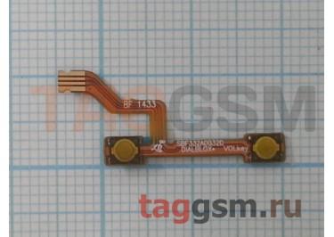 Шлейф для Alcatel OT-6043D  Idol X + кнопки громкости